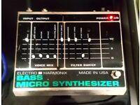 ElectroHarmonix Bass Micro Synth Pedal