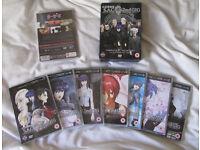 Anime dvd - Nekomonogatari & Ghost in the Shell SAC