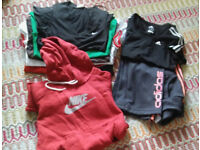 ~~~~~~Ladies/ Teens Active Gym Sports clothes bundle NIKE, ADIDAS sz 8-10~~~~~