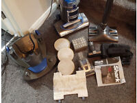 Shark Rotator 3 in 1 Lift Off Vacuum Cleaner NV340UKP extra tools cylinder caddy, boxed