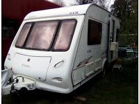 Elldis 472 two berth caravan