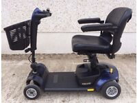 Like new Medium size Travel mobility scooter - Pride GOGO LX