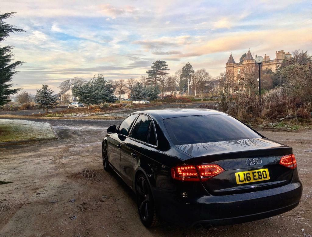 audi a4 tdi s line black edition replica se manual diesel se b8 in murrayfield edinburgh. Black Bedroom Furniture Sets. Home Design Ideas