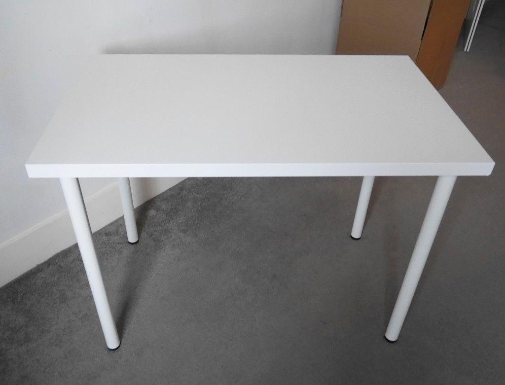 Ikea linnmon adils table white cm in hackney london