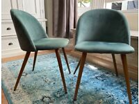 Jamal Upholstered Dining Chair (Set of 2)