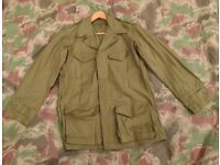 "Vintage French Military M1947 ""TTA-47"" Combat Jacket – Foreign Legion / Algerian War Model"