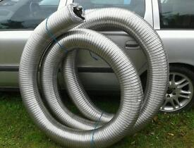 "30 ft OF 6"" NEW FLUE LINER £150 FOR LOG BURNER / MULTIBURNER"