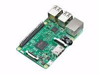 Raspberry Pi 3 (Model B) - Portable PC - 4 USB Ports, HDMI, Audio, MicroSD, all leads & much more