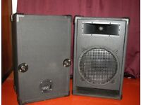 PA cabinets, with Eminence Delta speakers (price drop)