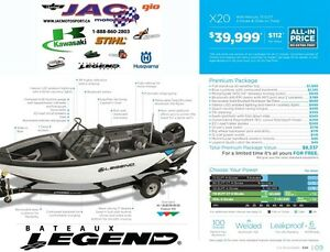 2016 Legend Boats X20 Mercury 75 ELPT **Premium package 8,337$ I