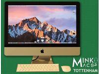 APPLE iMAC DESKTOP 21.5' QUAD CORE i5 @ 2.5Ghz 4GB RAM 500GB HDD MINKOS MACS TOTTENHAM WARRANTY
