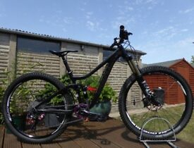 "2014 Giant Trance 2 Mountain Enduro Bike - 27.5 Wheel 16"" Small Frame 150 mm Travel Full Suspension"