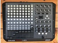AKAI APC40 controller for Ableton Live - barely used, like new in original box