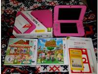 Nintendo 3ds xl in pink great Christmas present
