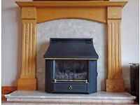 Fire Surround, Base and Back,