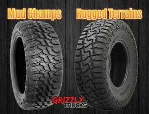 NATIONWIDE SALE !!! MUD CHAMPS AND RUGGED TERRAINS ~~~ LOWEST PRICES GUARANTEED