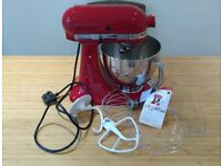 New Red KitchenAid Artisan Stand Mixer 5KSM150