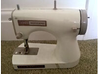 Jones Meccano hand operated collectible sewing machine