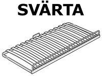 "SVÄRTA Underbed single bedframe on wheels - ""trundle bed"" - ""guest bed""- £30"