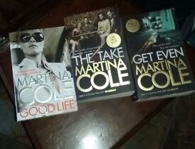 three Martina Cole Books