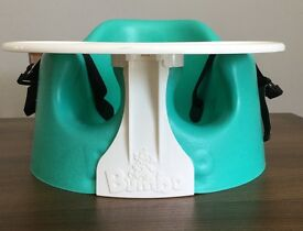 Bumbo seat with play tray