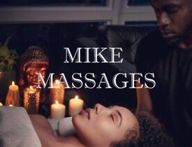 Black Male Masseur for Female Relaxing Massages