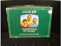 BBC TV A Question of Sport Game – Original 1986 Vintage Game