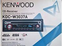 kenwood radio/cd/mp3 player kdc-w3037a