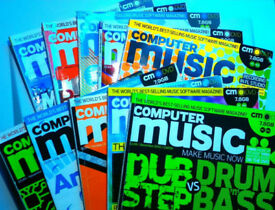 Future Music + Music Tech + Computer Music Magazines. large collection, over 30 issues