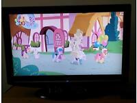 "Bush full hd 26"" tv with remote"