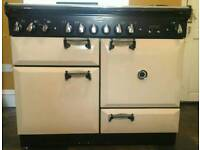 Range master Elan 110 dual fuel cooker, As new, £865