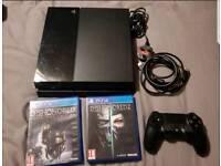 SONY PLAYSTATION 4 PS4 1TB BUNDLE GAMES PAD CHEAP