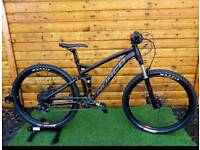 (Sold) Norco fluid 7.1 mountain bike full suspension bicycle 2017 2018