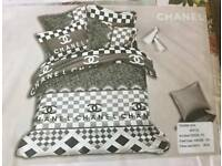 chanel bed set