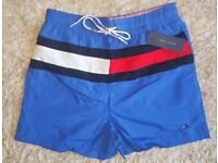 32 Waist Tommy Hilfiger Swim Shorts (Blue)