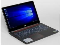 Dell Gaming Laptop i7-6700HQ Inspiron 15 - 7559 Win 10 (64bit) NVIDIA GeForce GTX 960 4GB