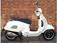 Vespa GTS 300, 65 Reg Immaculate condition with low mileage
