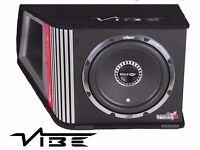 Vibe BlackAir BAV 12 Vented CBR 12 Active 1600 Watt Amplified Bass Box Black Air