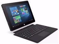 "Linx 10.1"" Windows 10 Tablet Intel Atom Z3735F Quad Core 2GB RAM 32GB Storage"