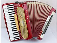 Hohner Musette IV Accordion - 120 Bass - 4 Voice - In Excellent Condition