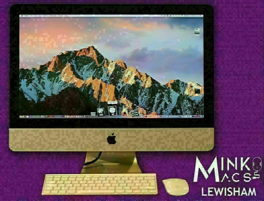 Apple iMac 21 5' Slim i5 2 8GHz 8GB Ram 1TB SSHD Logic Pro Mainstage Final  Cut Pro Microsoft Office | in Lewisham, London | Gumtree