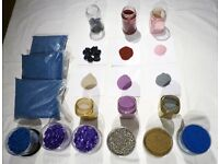 Enormous selection of Decorative Sands & Stones - Retailed approx. £70