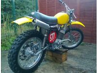 AJS Stormer 410, classic two stroke motocross bike, twinshock, pre 74