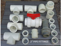 2 inch Solvent Weld Pipe Fittings (Assorted)