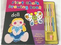 First Chalk Drawing Book