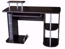 Charles Jacobs Black Computer Desk #23# New