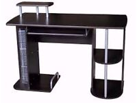 Charles Jacobs Black Computer Desk #23# New