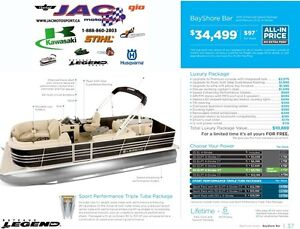 2016 legend boats Bayshore Bar Mercury 25 EL **Premium package 1