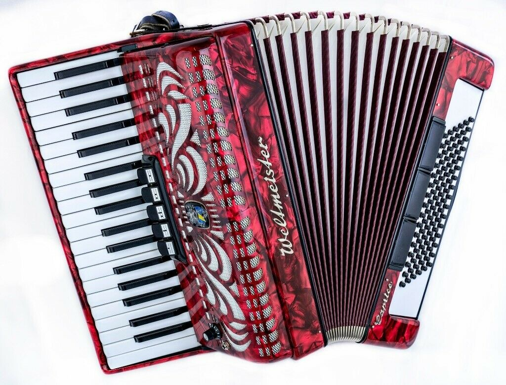 Weltmeister Caprice MIDI Accordion - Light Weight - 37 Keys / 96 Bass 3  voice | in Bellshill, North Lanarkshire | Gumtree