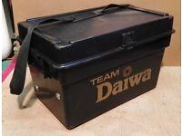 """TEAM DAIWA FISHING SEAT / TACKLE BOX H, 15"""" x W.16""""x L.22"""""""